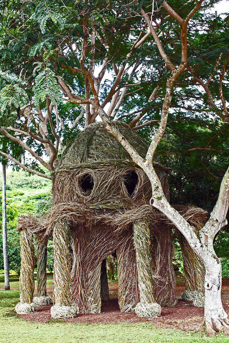 07. Birthday Palace (2014), National Tropical Botanical Garden, Kauai, HI.
