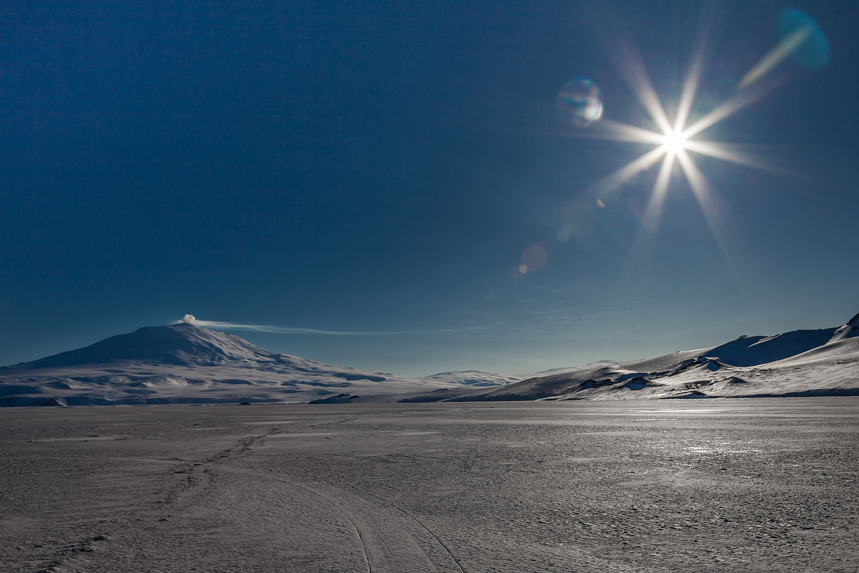 16. Mount Erebus Sunshine