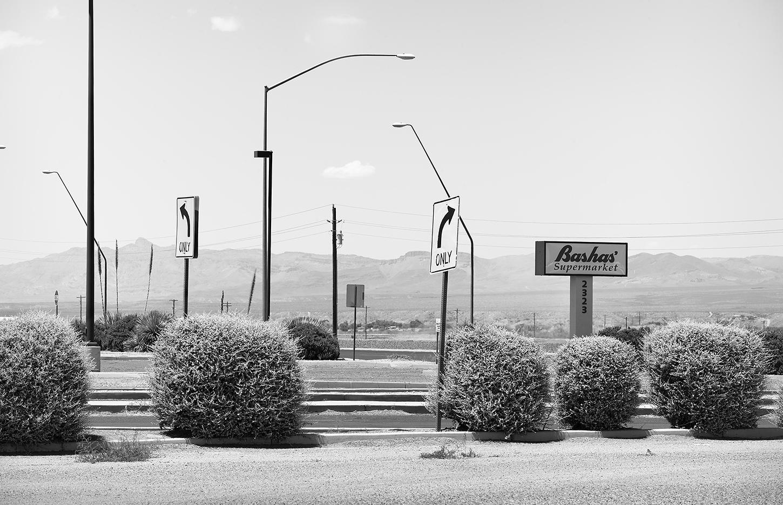 Bashas' Access Road, Safford, AZ