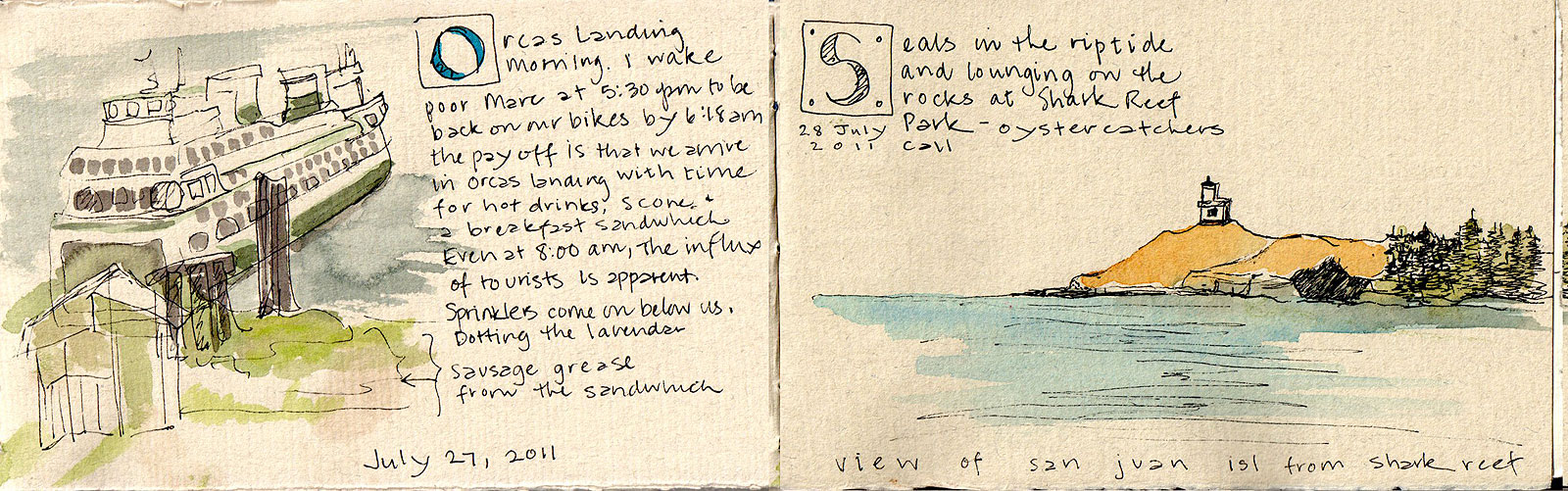 08. Orcas Island, Lopez Island