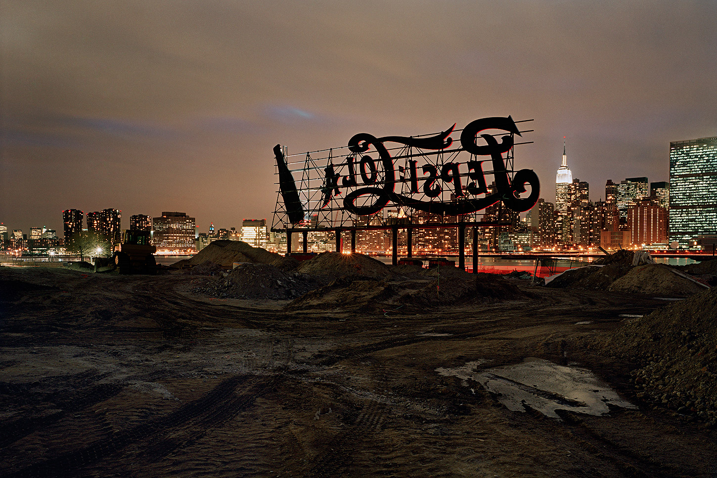 09. Pepsi-Cola Sign, Long Island City, New York, 2008