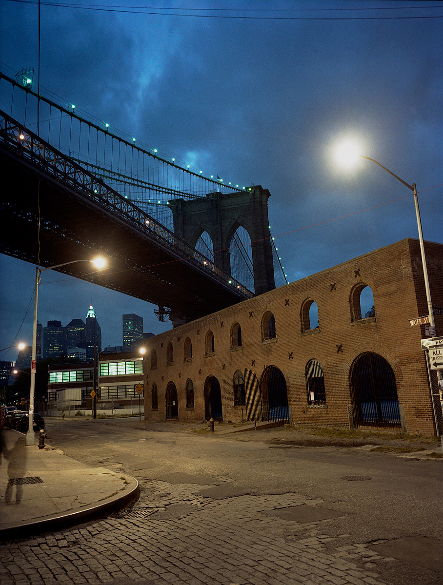 15. Warehouse + Bridge, Brooklyn, New York, 2002
