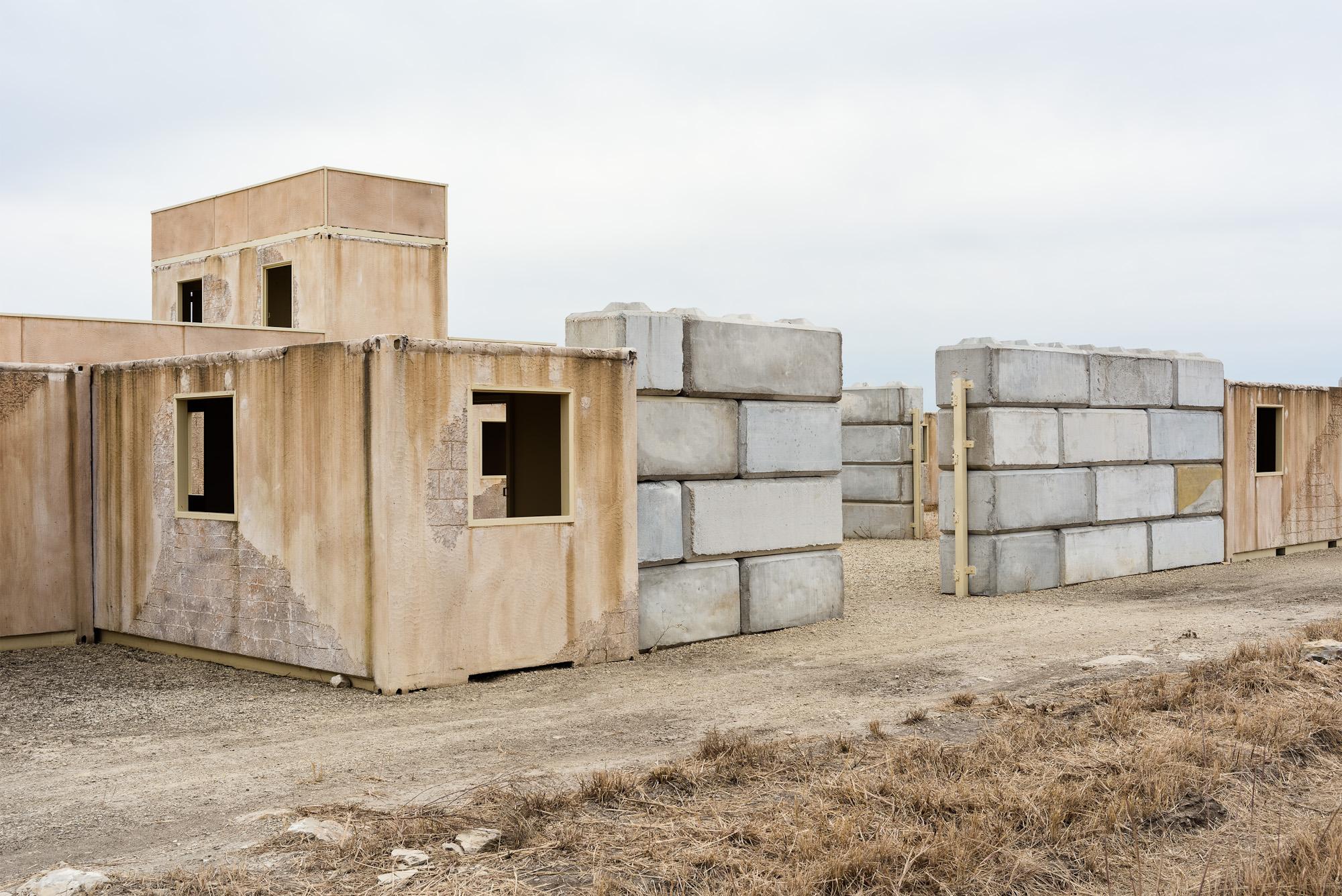 03. Side Entrance, Live Fire Village #7, Fort Riley, KS