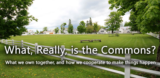 What, Really, is the Commons?
