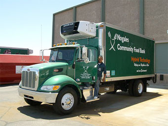 Nogales Community Food Bank truck