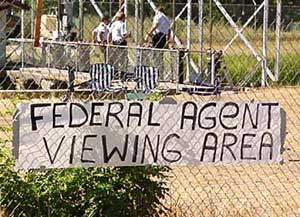 """Federal Agent Viewing Area."""