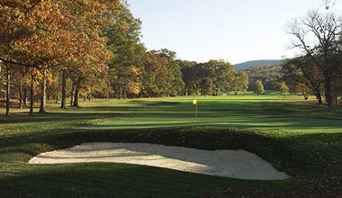 The Bedford Springs golf course.