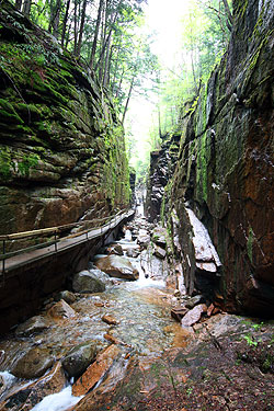 The Flume at Franconia Notch State