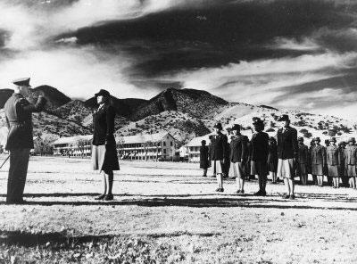 Hopi cultural advisor Dalton Taylor at the Reeve  Ruin, San Pedro Ethnohistory Project.