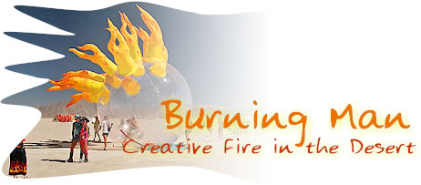 Burning Man: Creative Fire in the Desert.