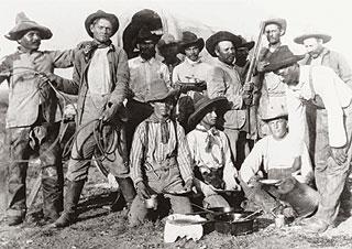 Les vrais cowboys ressemblaient à ça