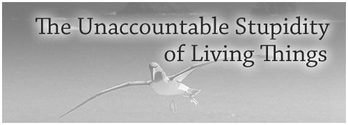 The Unaccountable Stupidity of Living Things