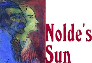 "Nolde's Sun by Dennis Must - Emil Nolde's ""Portrait of the Artist and His Wife,"" 1932, courtesy of Detroit Institute of Arts"