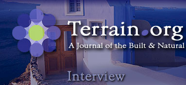 Terrain.org Interview.