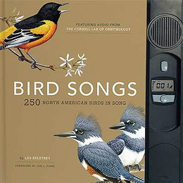 Bird Songs: 250 North American Birds in Song, by Les Beletsky.