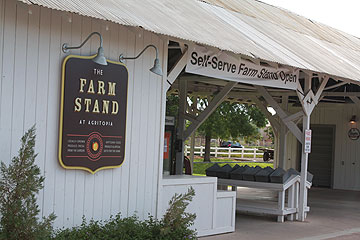 The Farm Stand at Agritopia's agro-commercial area.