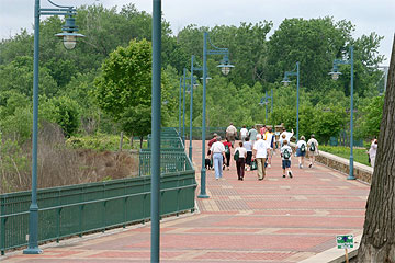 The Missouri Riverfront Trail weaves from urban to suburban to rural areas within the seven-county region of MetroGreen.