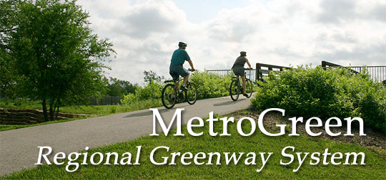 MetroGreen Regioinal Greenway System, Kansas City, Missouri/Kansas