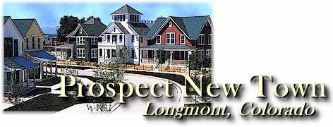 Prospect New Town - Longmont, Colorado.  Photo courtesy The Daily Times-Call.