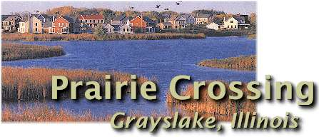 Prairie Crossing in Grayslake, Illinois.