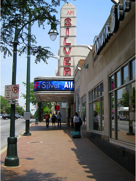 Street View of AFI Silver Theatre
