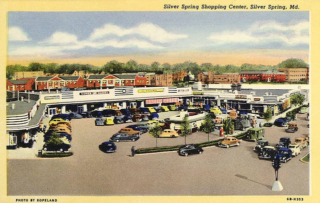 Silver Spring Shopping Center, c. 1946