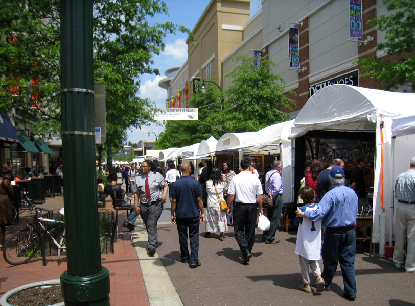 Arts and Crafts Fair on Ellsworth