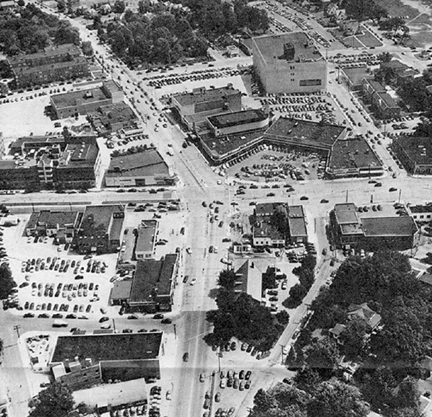 Downtown Silver Spring, c. 1950s