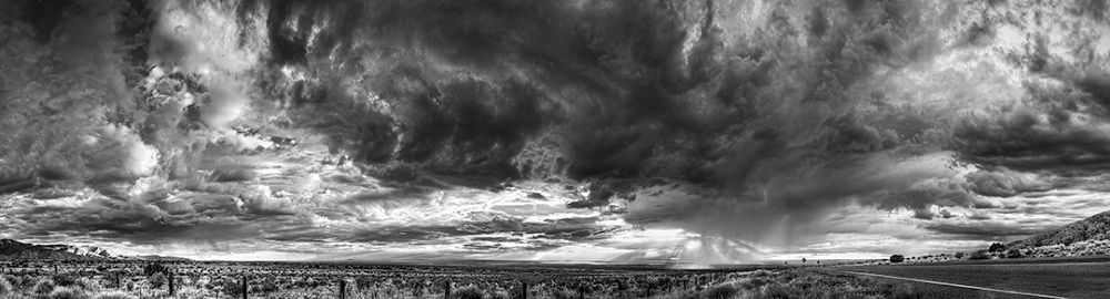 Albuquerque Monsoon Clouds, New Mexico, 2011