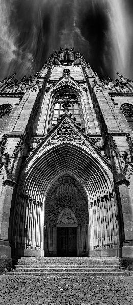 Basel Gothic Façade, Switzerland, 2012