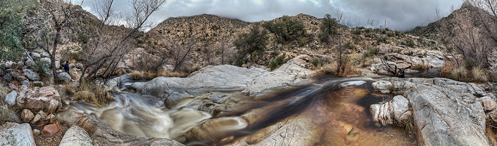 Romero Stream after Rain, Catalina State Park, Arizona, 2013
