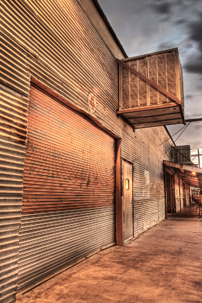 Tin Siding, Tucson, Arizona, 2012
