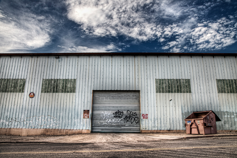 Warehouse Side, Tucson, Arizona, 2012