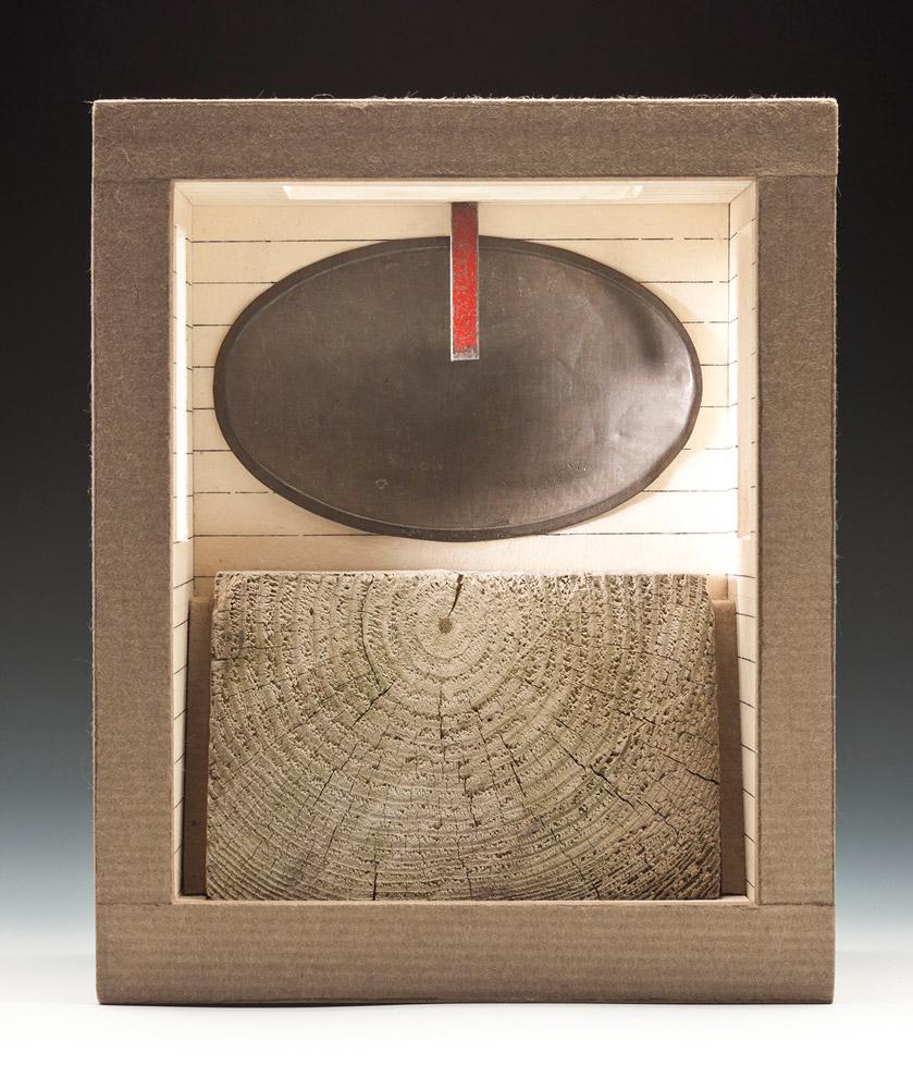 """Marker II, 11"""" x 8"""" x 4"""" (2011)"""
