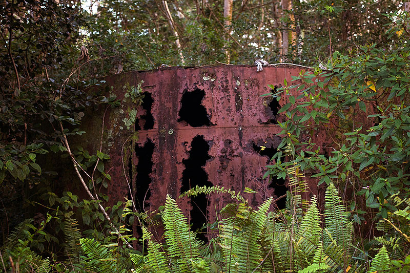 Rusted Catchment Tank, 2012