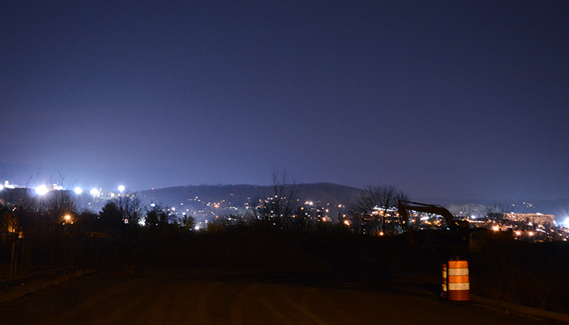 Harrisonburg at Night