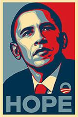 Obama Hope poster