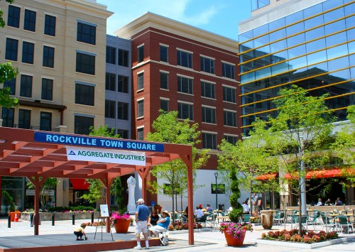 Town Square activity and Innovation Center.
