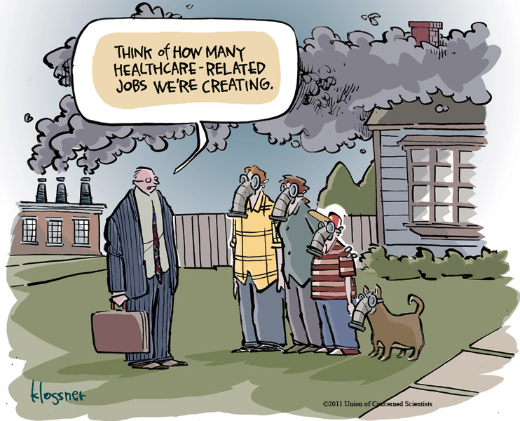 Union of Concerned Scientists cartoon