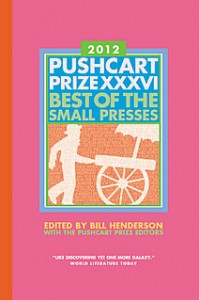 Pushcart Prize 2012 Cover