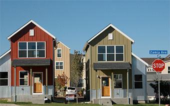 Holiday Neighborhood cottages.
