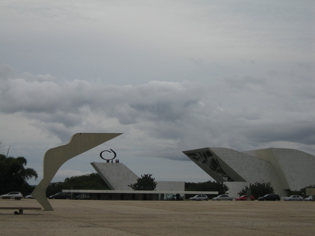 Art and/as architecture in Brasilia.
