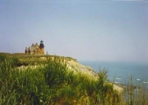 Block Island, Rhode Island lighthouse.