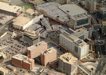 2008 aerial view of Silver Spring