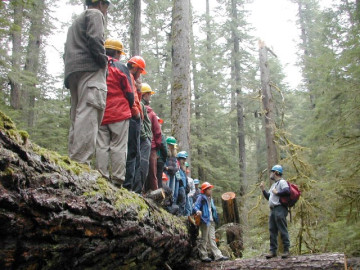Conservation education at H.J. Andrews Experimental Forest