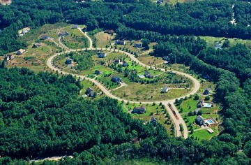 Residential development leading to habitat loss