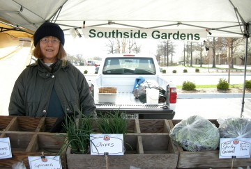 Southside Gardens at the farmers' market