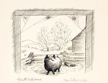 Wilbur illustration by Garth Williams