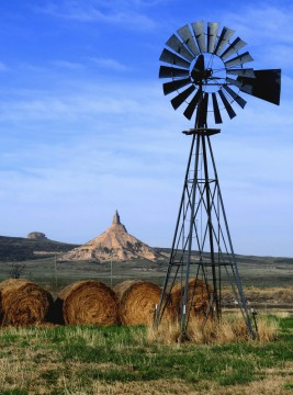 Windmill in Nebraska