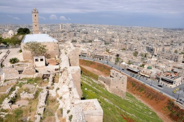 Ancient Aleppo as viewed from the Citadel